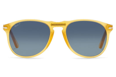 Persol - PO9649S Sunglasses Miele with Blue Polar Lenses (204/S3)