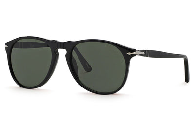 Persol - PO9649S Sunglasses Black with Green Lenses (95/31)