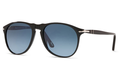 Persol - PO9649S Sunglasses Black with Gradient Blue Lenses (95/Q8)
