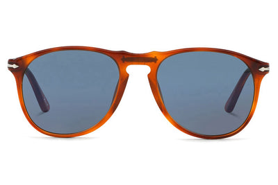 Persol - PO9649S Sunglasses Terra Di Siena with Blue Lenses (95/56)