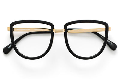 Kaleos Eyehunters - Wood Eyeglasses Black