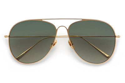 Kaleos Eyehunters - Somerset Sunglasses Gold with G15 Lenses