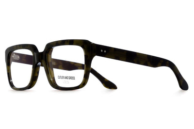 Cutler & Gross - 1289 Eyeglasses Green Turtle