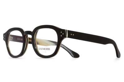 Cutler & Gross - 1290V2 Eyeglasses Black on Grey Horn