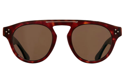 Cutler and Gross - 1292 Sunglasses Dark Turtle