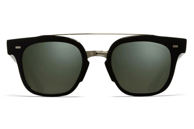 Cutler and Gross - 1297 Sunglasses Black and Crystal