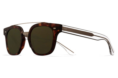Cutler and Gross - 1297 Sunglasses Dark Turtle and Crystal