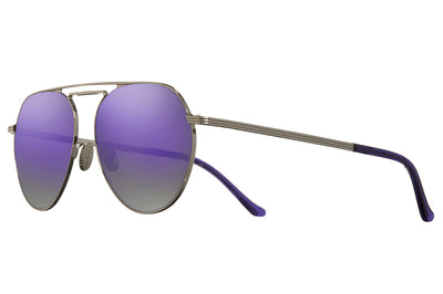 Cutler and Gross - 1309 Sunglasses Silver with Ultraviolet