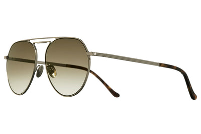 Cutler and Gross - 1309 Sunglasses Gold with Brown