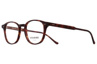 Cutler & Gross - 1312V2 Eyeglasses Matte Dark Turtle