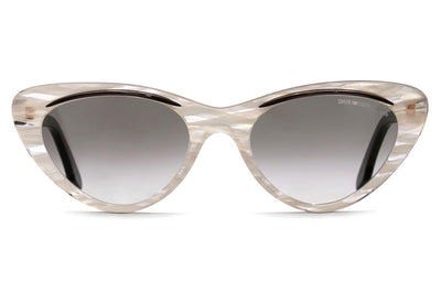 Cutler and Gross - 1321 Sunglasses Black on Pearl