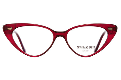 Cutler & Gross - 1322 Eyeglasses Red Lipstick