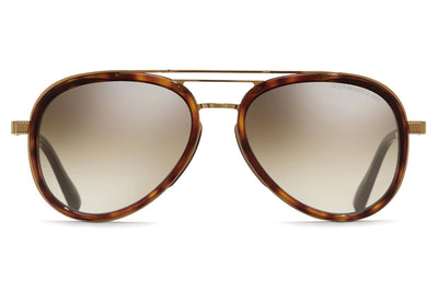 Cutler and Gross - 1323 Sunglasses Gold and Dark Turtle