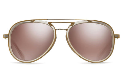 Cutler and Gross - 1323 Sunglasses Palladium Gold and Blush