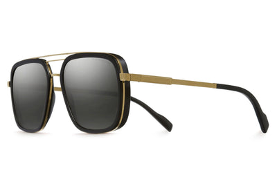Cutler and Gross - 1324 Sunglasses Gold Metal and Black