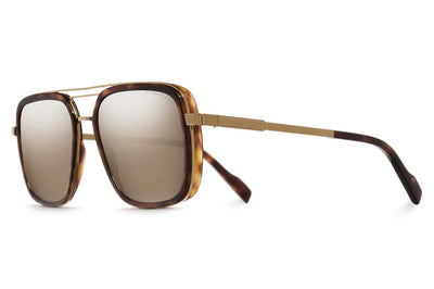Cutler and Gross - 1324 Sunglasses Gold and Dark Turtle