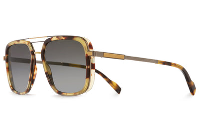 Cutler and Gross - 1324 Sunglasses Gold and Tortoiseshell