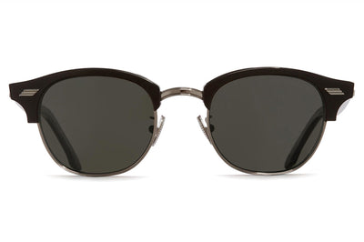 Cutler & Gross - 1334 Sunglasses Black with Grey Lenses