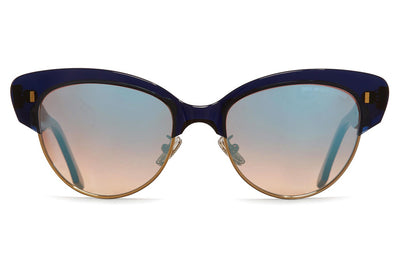 Cutler and Gross - 1351 Sunglasses Midnight Rambler Blue
