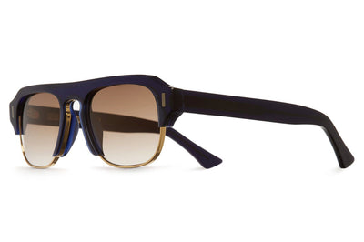 Cutler and Gross - 1353 Sunglasses Matte Midnight Rambler Blue & Gold