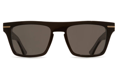 Cutler and Gross - 1357 Sunglasses Black Taxi