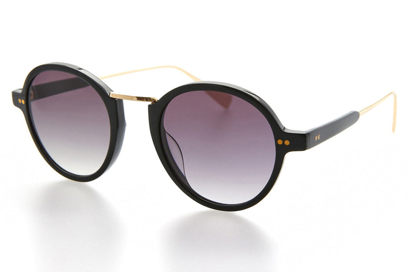 Kaleos Eyehunters - Lovell Sunglasses Black/Gold