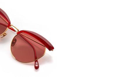 Kaleos Eyehunters - Whoberi Sunglasses Transparent Red