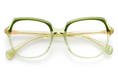 Kaleos Eyehunters - Lake Eyeglasses Transparent Green