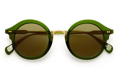 Kaleos Eyehunters - Miller Sunglasses Transparent Green