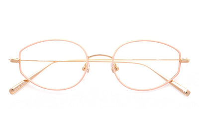 Kaleos Eyehunters - March Eyeglasses Pink/Gold
