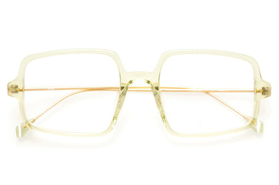 Kaleos Eyehunters - Gopnik Eyeglasses Transparent Light Green