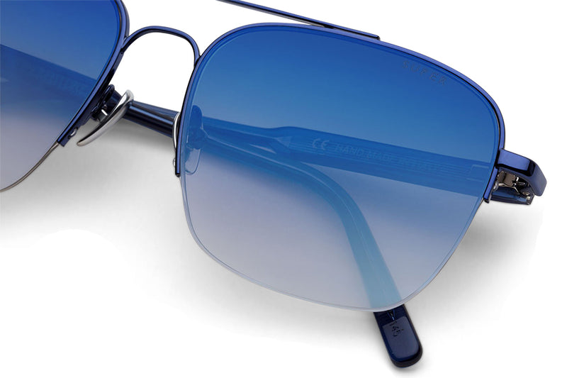 Retro Super Future® - Adamo Sunglasses Fadeism Blue