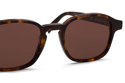 Retro Super Future® - Sol Sunglasses Warm Brown