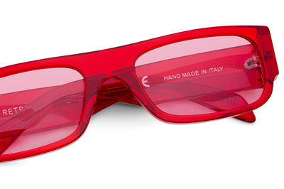 Retro Super Future® - Smile Sunglasses Red