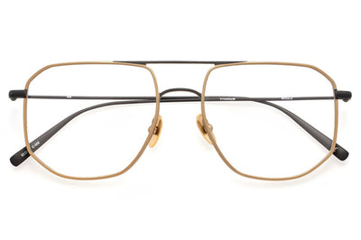 Kaleos Eyehunters - Willard Eyeglasses Black/Gold
