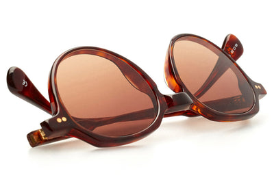 Kaleos Eyehunters - Perlman Sunglasses Honey Tortoise