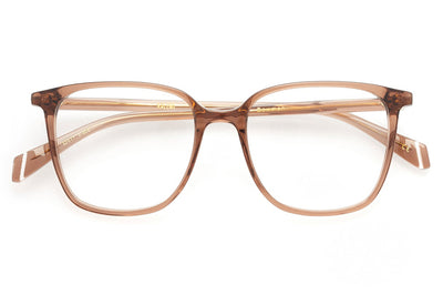 Kaleos Eyehunters - Bowman Eyeglasses Transparent Brown