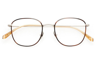 Kaleos Eyehunters - Finch Eyeglasses Silver/Brown