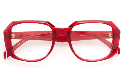 Kaleos Eyehunters - Rivers Eyeglasses Red