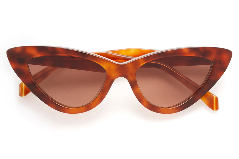 Kaleos Eyehunters - Bowles Sunglasses Honey Tortoise