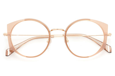 Kaleos Eyehunters - Thrombey Eyeglasses Light Brown