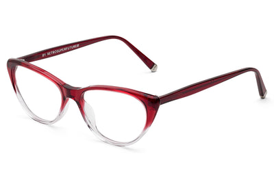 SUPER® by Retro Super Future - Numero 49 Eyeglasses Bordeaux Faded