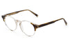 SUPER® by Retro Super Future - Numero 41 Eyeglasses Crystal + Havana