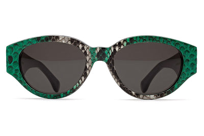 Retro Super Future® - Super & Marques Almeida Sunglasses Python Green
