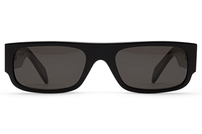 Retro Super Future® - Smile Sunglasses Black