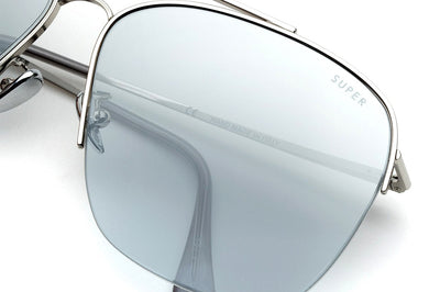 Retro Super Future® - Nazionale Sunglasses Silver Hombre