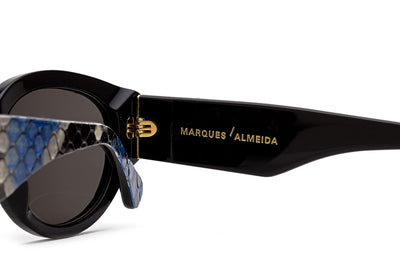Retro Super Future® - Super & Marques Almeida Sunglasses Python Blue