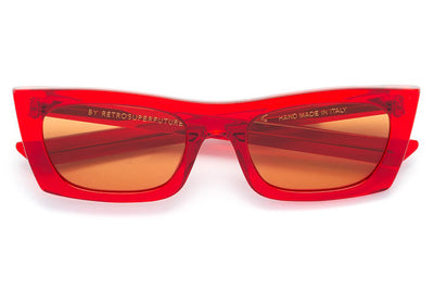 Retro Super Future® - Fred Sunglasses Crystal Red