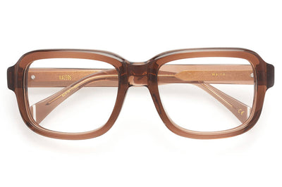 Kaleos Eyehunters - Maine Eyeglasses Transparent Brown