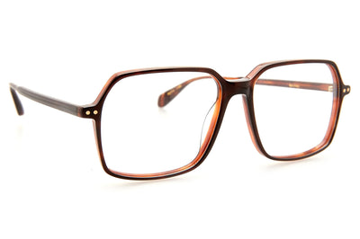 Kaleos Eyehunters - Shirley Eyeglasses Dark Brown Tortoise